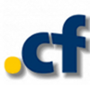 .cf Logo - Central African Republic Domain, International Domains